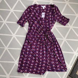 Maternity Wrap Dress NWT